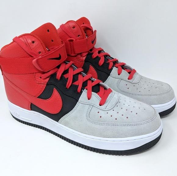 the best attitude 81c22 eb56b Nike Air Force 1 High 07 LV8 Wolf Grey 806403-007